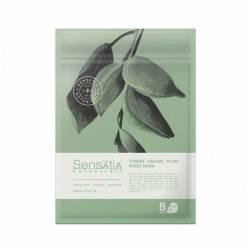 Тканевая маска для лица Витаминизирующая Слива Какаду (8 штук в упаковке) Sensatia Botanicals Toning Kakadu Plum Sheet Mask 150 ml
