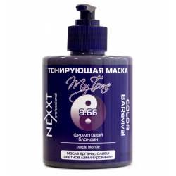 Тонирующая маска 9.66 фиолетовый блондин Nexxt Professional (purple blonde) 320 ml