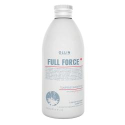 Тонизирующий шампунь с экстрактом пурпурного женьшеня Ollin Professional 300 ml