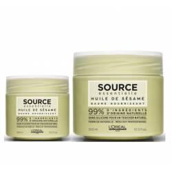 Увлажняющая маска для сухих волос с маслом кунжута L'Oreal Professionnel Source Essentielle 300 ml