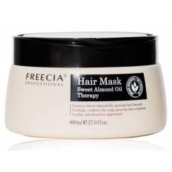 Увлажняющая маска с маслом сладкого миндаля FREECIA Hair Mask Sweet Almond Oil Therapy 800 ml