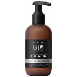 Увлажняющий Лосьон для Рук и Тела Длительного Действия American Crew Acumen 24H Hand & Body Hydrator 190 ml