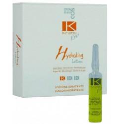 Увлажняющий лосьон для волос в ампулах BBcos Kristal Evo Hydrating Lotion 12x10 ml