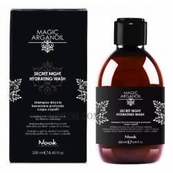 Увлажняющий шампунь-гель для волос и тела Nook Magic Arganoil Secret Night Hydrating Wash 250 ml