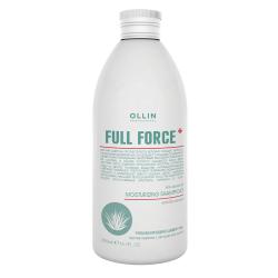 Увлажняющий шампунь против перхоти с экстрактом алоэ Ollin Professional 300 ml
