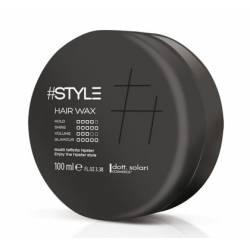 Воск для волос уровень фиксации 4 Dott. Solari #Style Black Line Hair Wax 100 ml