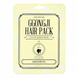 Восстанавливающая маска для поврежденных волос Конский Хвост (1 шт) Kocostar GGONGJI HAIR PACK 1 pc