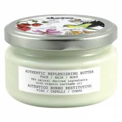 Восстанавливающее масло для лица, волос и тела Davines Authentic Replunishing Butter 200 ml