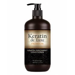 Восстанавливающий кондиционер с кератином De Luxe Keratin Premium Enrichment Conditioner 300 ml