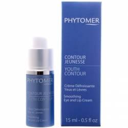 Восстанавливающий крем от морщин для кожи вокруг глаз и губ Phytomer Youth Contour Smoothing Eye and Lip Cream 15 ml