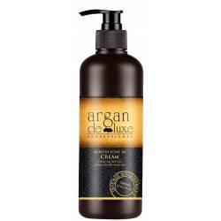 Восстанавливающий крем с кератином De Luxe Argan Keratin Leave-in Cream 240 ml