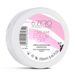 Защитный крем для кожи головы при окрашивании 6. Zero Seipuntozero Cream Color Off 250 ml