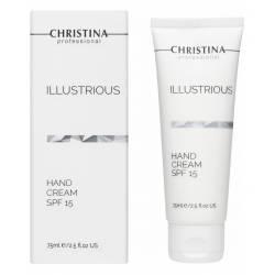 Защитный крем для рук Christina Illustrious Hand Cream SPF 15, 75 ml