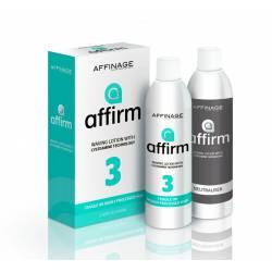 Завивка для ламких пошкодженого волосся Affinage Affirm 3 Fragile Or Highly Processed Hair 2x210 ml